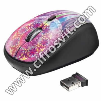 Фото -  Trust Yvi Wireless Mouse dream catcher (20252)
