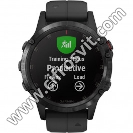 Фото - Умные часы GARMIN FENIX 5 PLUS SAPPHIRE BLACK WITH BLACK BAND (010-01988-00)