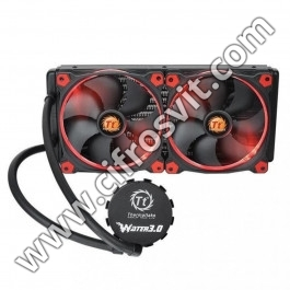 Фото -  Thermaltake Water 3.0 Riing Red 280 (CL-W138-PL14RE-A)