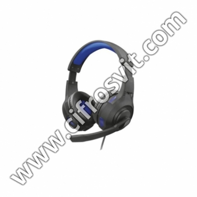 Фото - Наушники Trust GXT 307B Ravu Gaming Headset for PS4 Blue (23250)