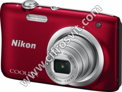 Фото - Фотоапарати Nikon Coolpix A100 Red