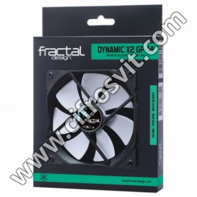 Фото -  Fractal Design DYNAMIC X2 GP-14 WH (FD-FAN-DYN-X2-GP14-WT)