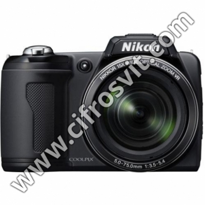 Фото - Фотоапарати Nikon Coolpix L110 black