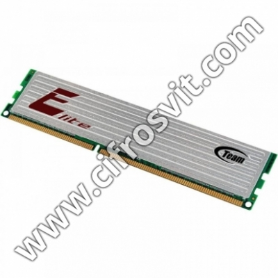 Фото -  Team DDR-3 2GB 1600 MHz Elite (TED3L2G1600C1101)