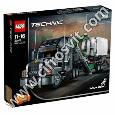Фото - Конструкторы Авто-конструктор LEGO Technic Mack Anthem (42078)