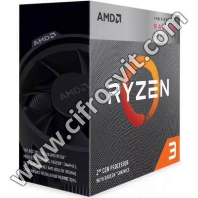 Фото -  AMD Ryzen 3 3200G Box (YD3200C5FHBOX)